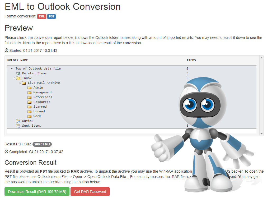 Conversion Robot Freeware